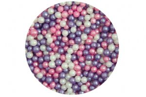 Sugar 4mm Pearls - Ice Pink Mix